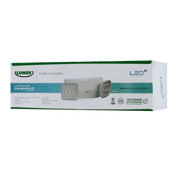 Luminaria LED Emergencia 4W A-LE4 Serie A