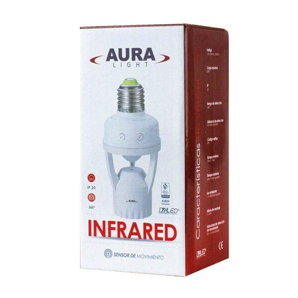 Sensor Infrarrojo Porta Bombilla Ref ASR04