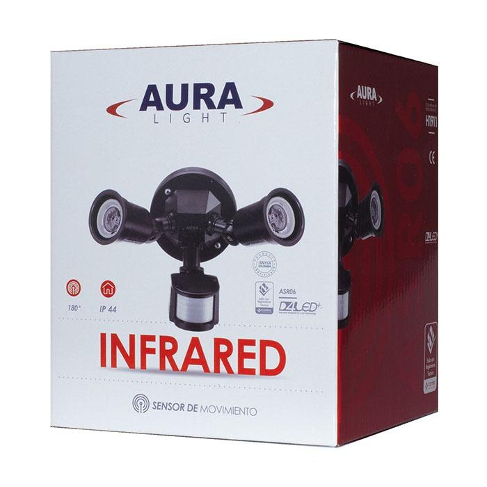 Sensor Infrarrojo Porta Bombilla Ref ASR06