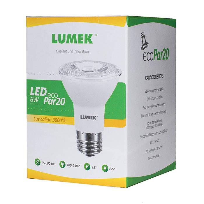 Bombillo LED ECO 6W PAR20