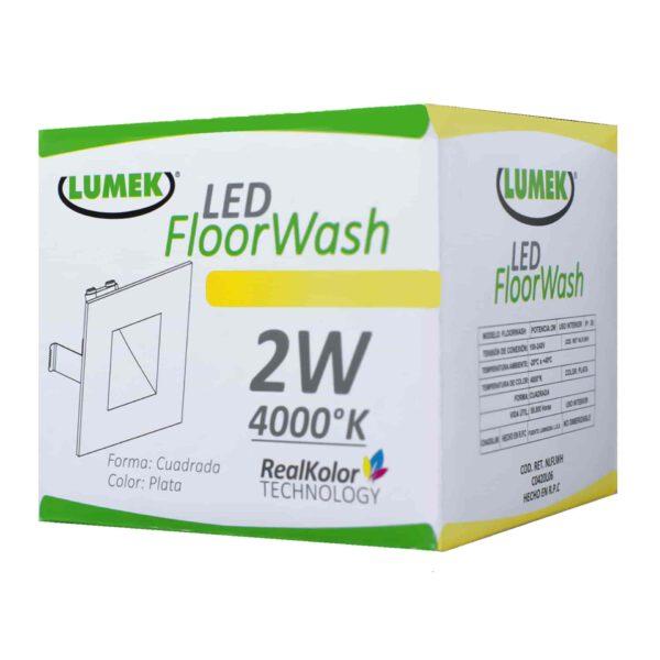 Bombillo Led Floor Wash 4000K B Silver