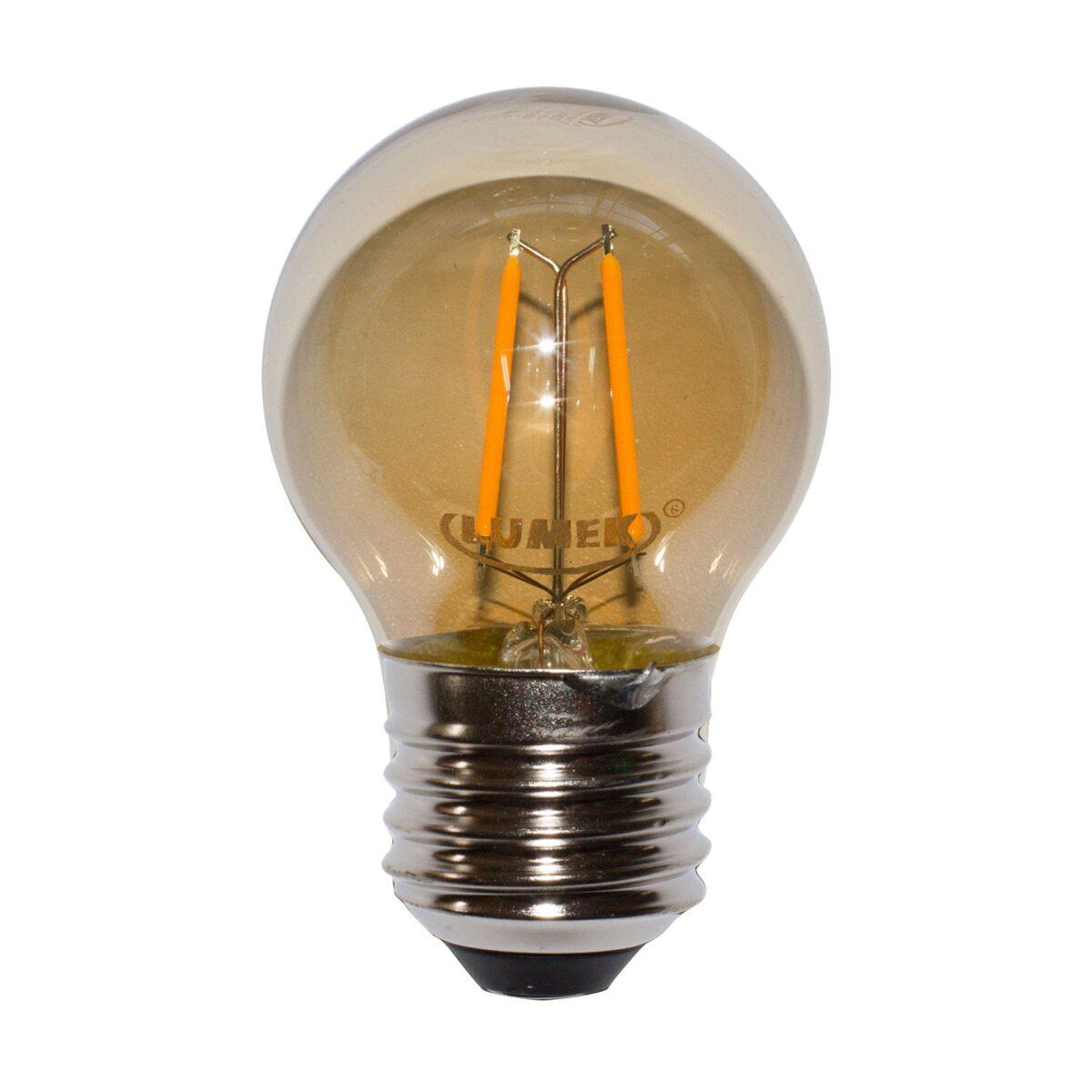LED ECO VINTAGE AMBAR 2W 2700K 120V E27 LUMEK_1