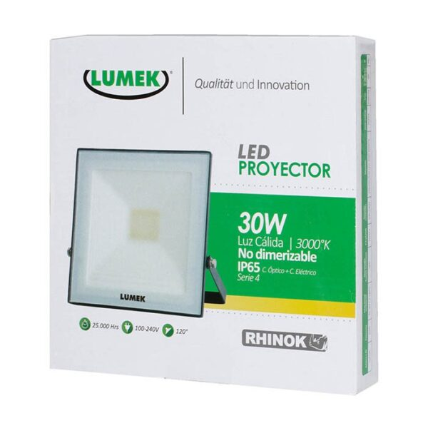 Proyector Led 30W 3000K