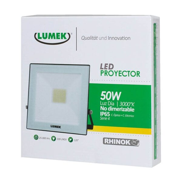 Proyector Led 50W 3000K