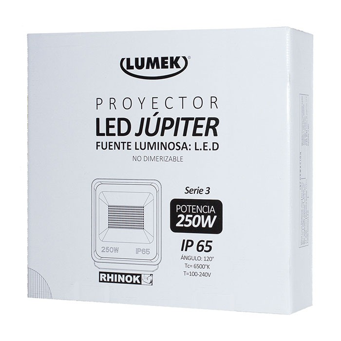 Proyector Led 250W 6500K