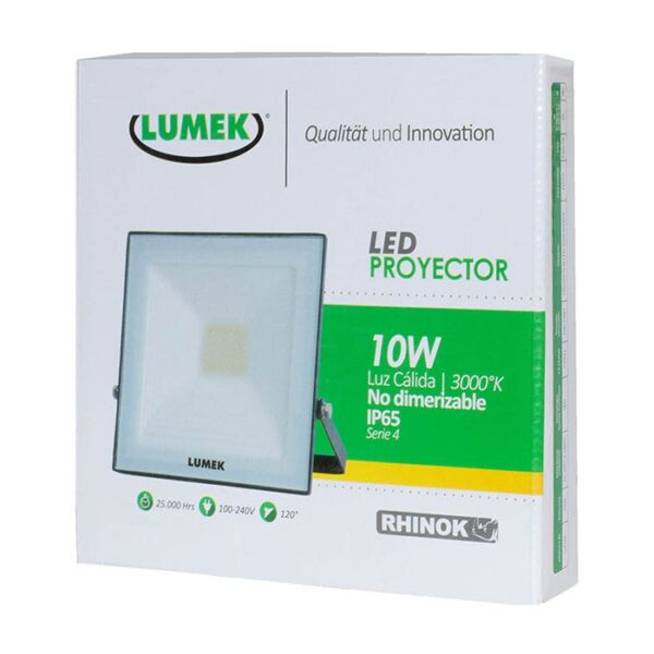 Proyector Led 10W 3000K