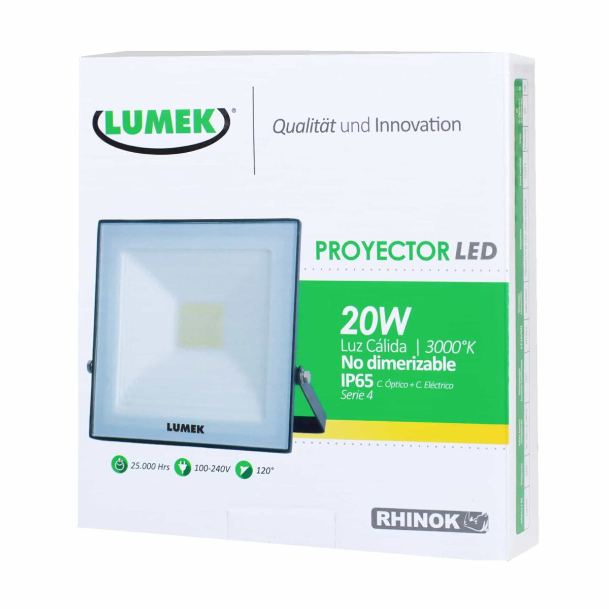 Proyector Led 20W 3000K