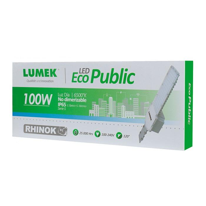 Luminaria LED Eco 100W 6500K Serie S Rhinok