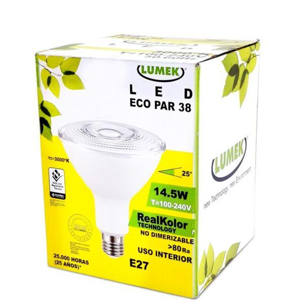 Bombillo Led Eco Par38 14 5 W 3000K